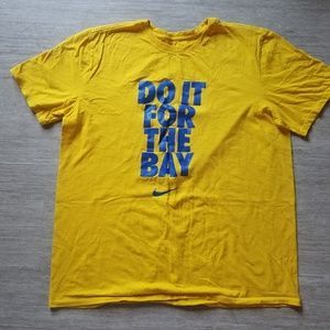 Nike T-Shirt 'Do It For The Bay' GS Warriors